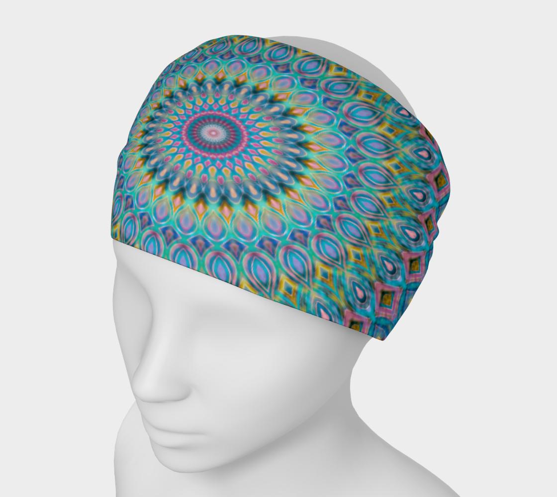 Cotton Candy Mandala Headband preview