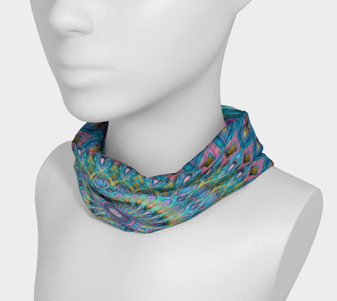 Aperçu de Cotton Candy Mandala Headband #3