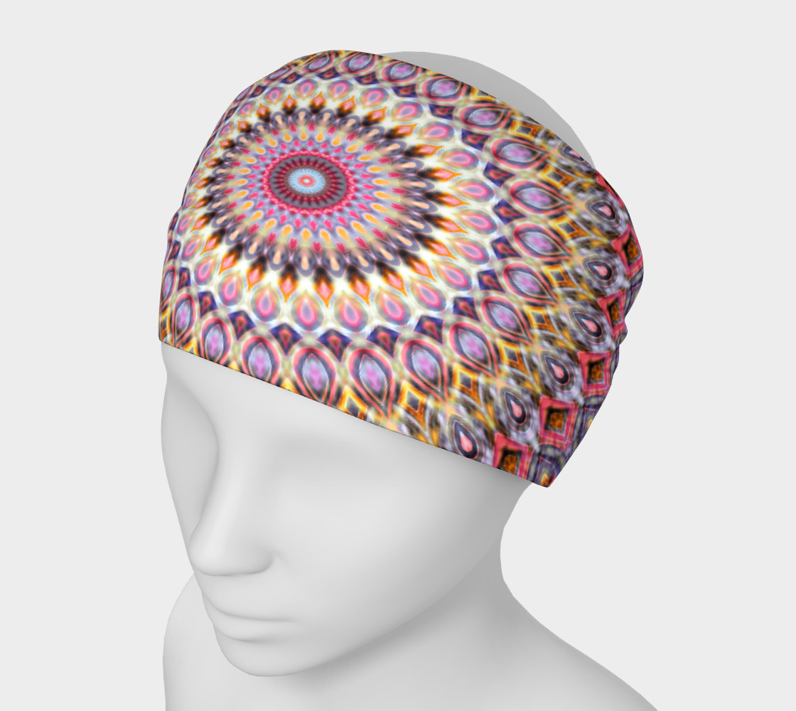 Aperçu de Sunset Dreams Mandala Headband #1