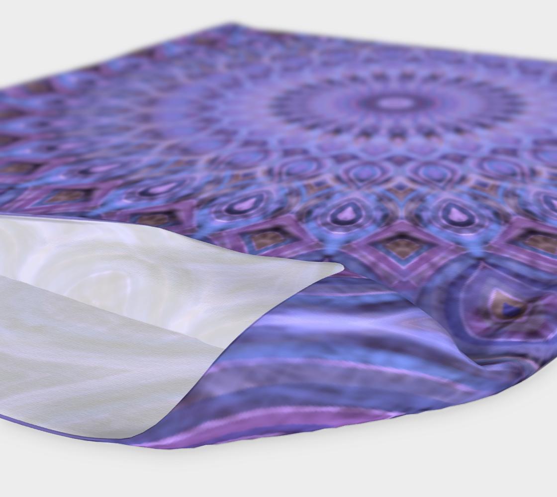 Aperçu de Lavender Bliss Mandala Headband #4