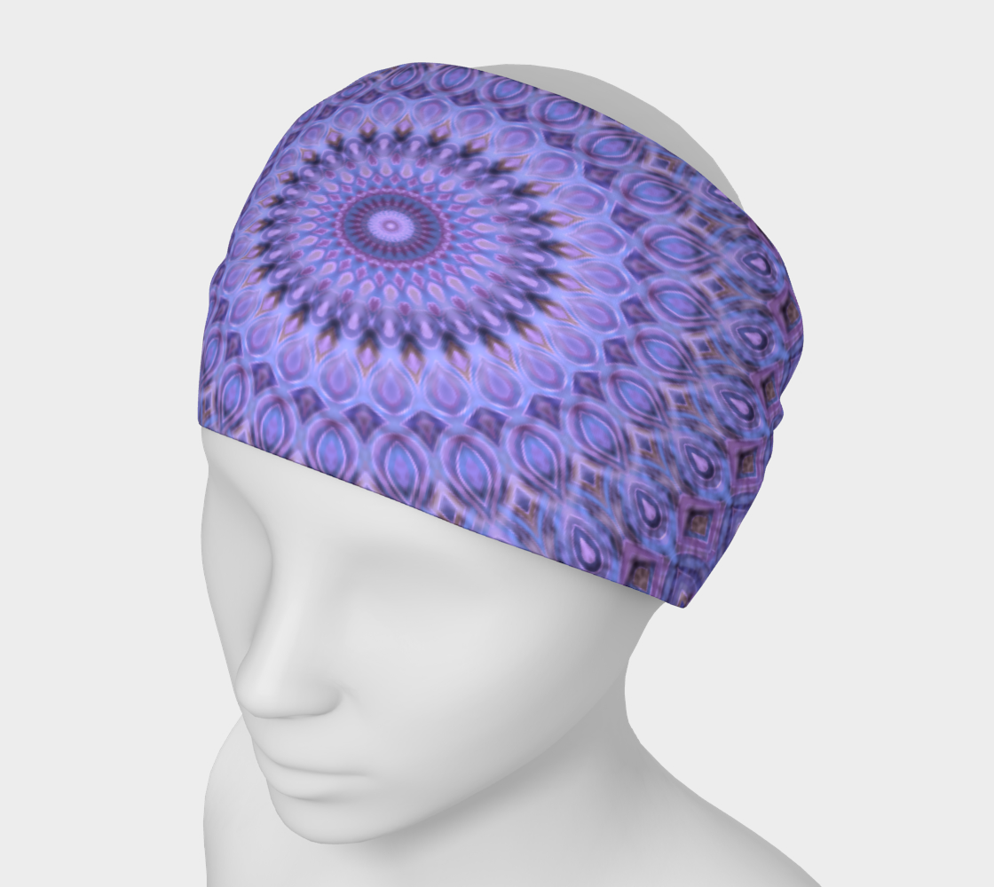 Aperçu de Lavender Bliss Mandala Headband