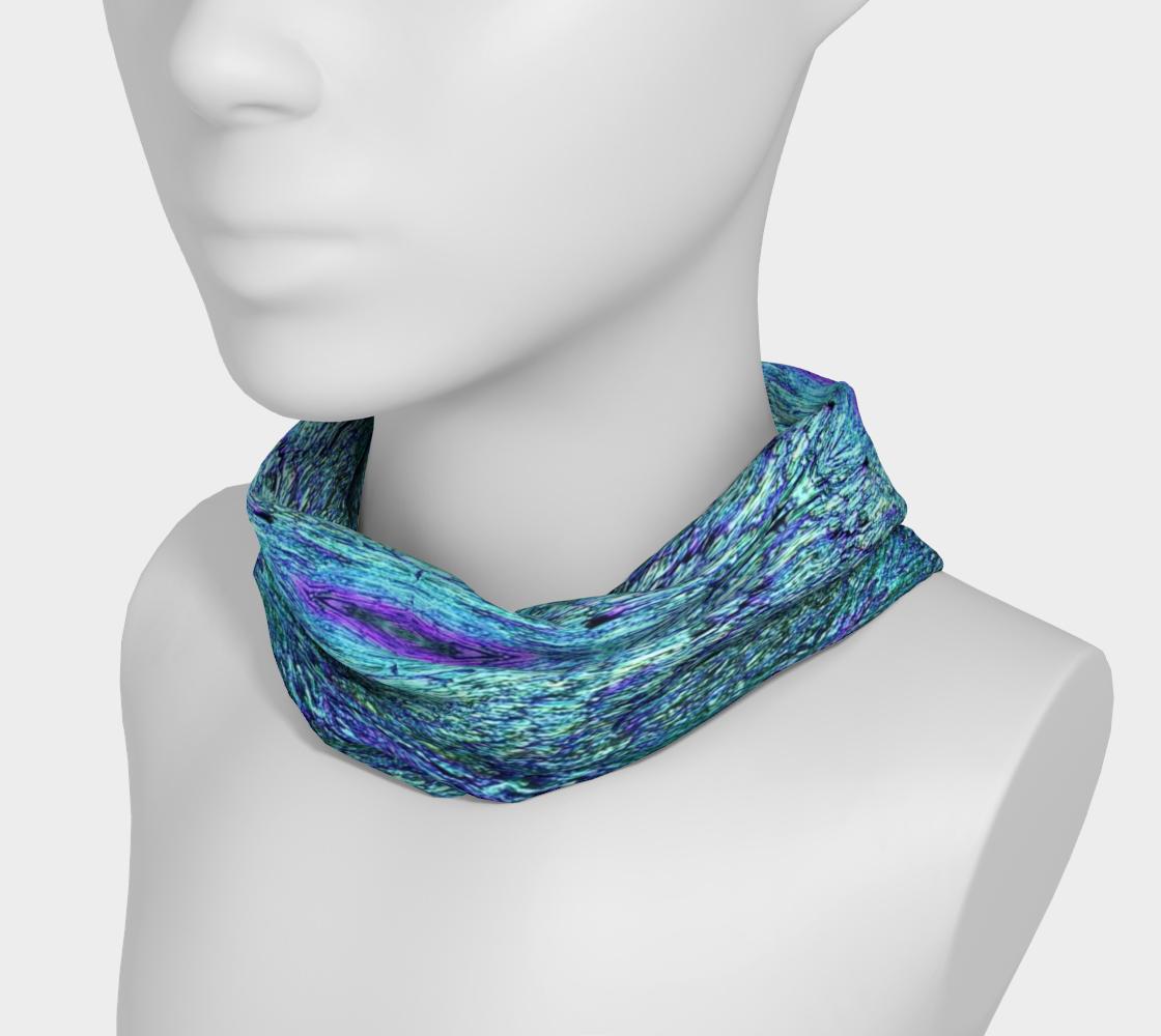 Aqua Aura Headband & Face Covering preview #3