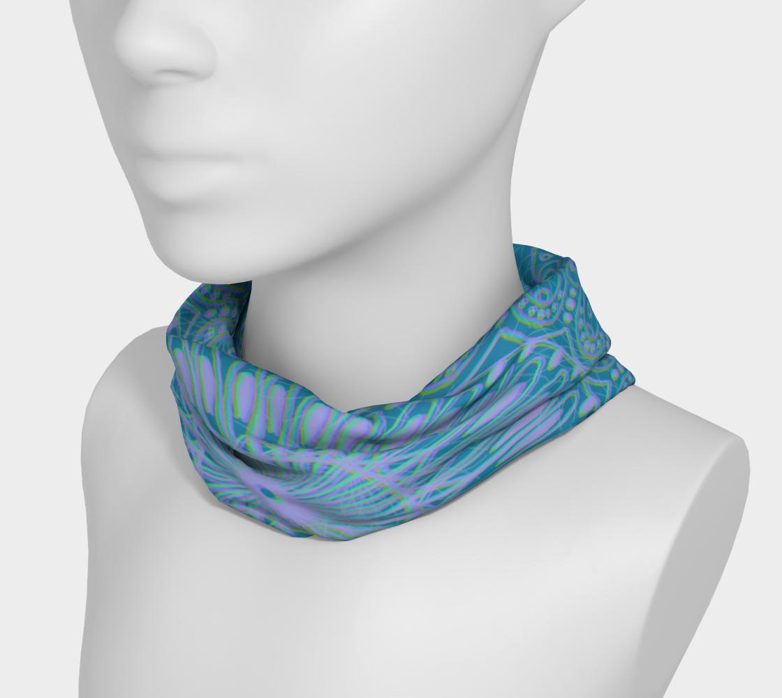 Aperçu de Boho Style Blue Headband #3