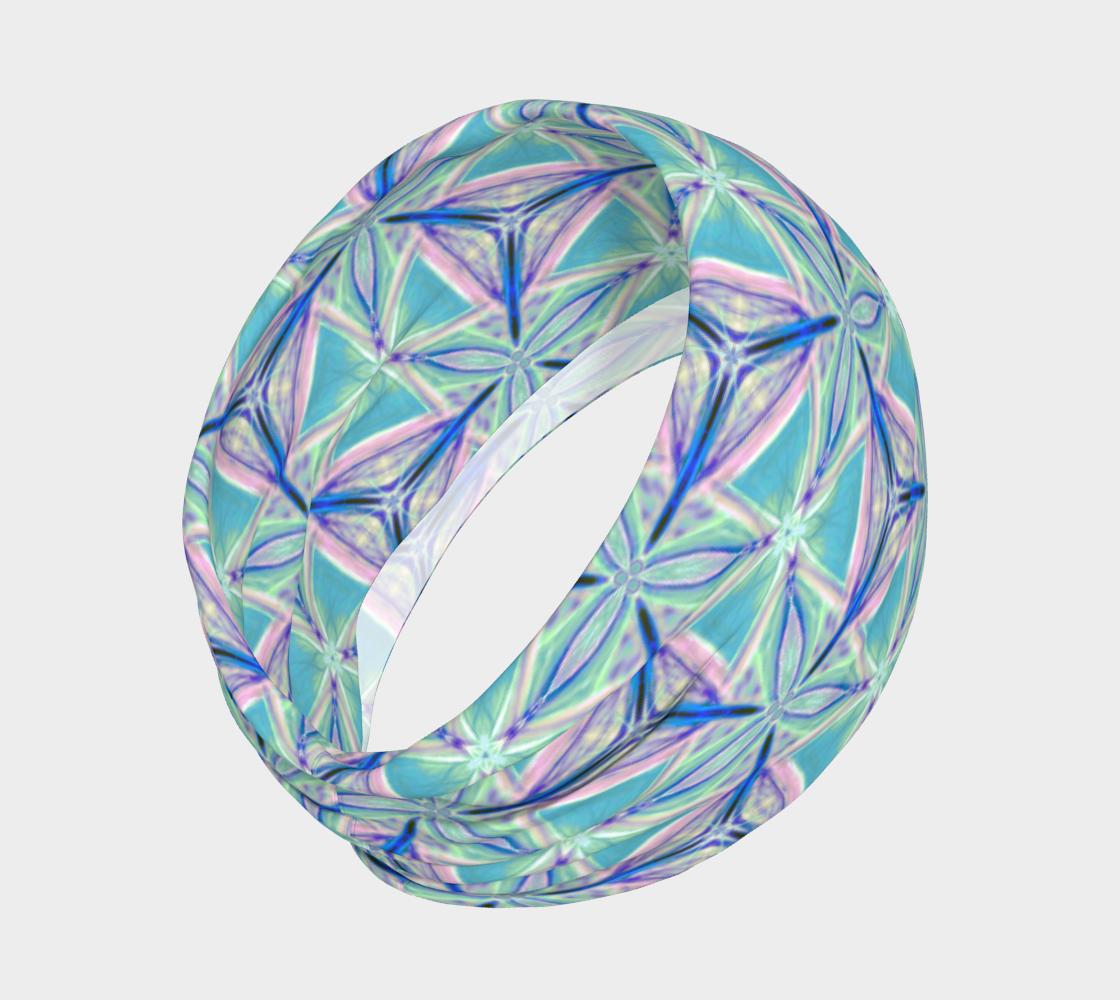 Aperçu de Peacock Pattern Headband #2
