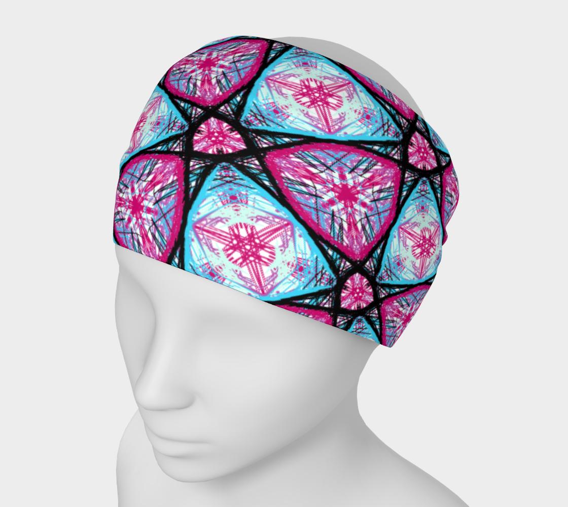 Aperçu de Starburst Pattern Headband #1
