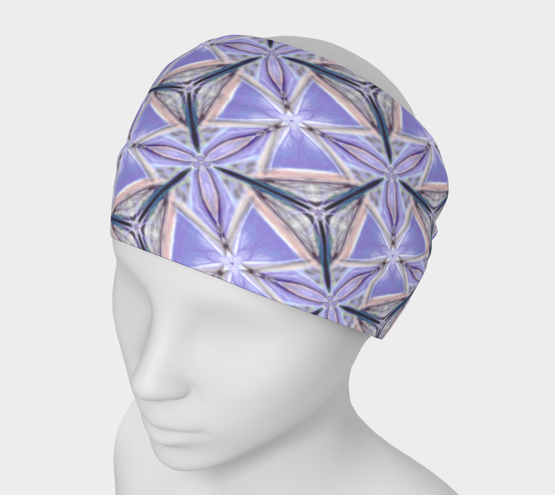 Lilac Bliss Pattern Headband preview
