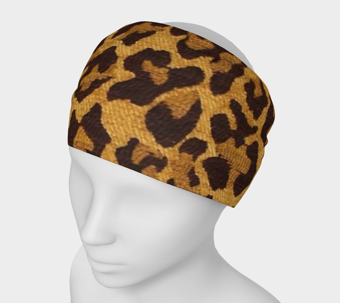 Brown and Gold Leopard Print preview