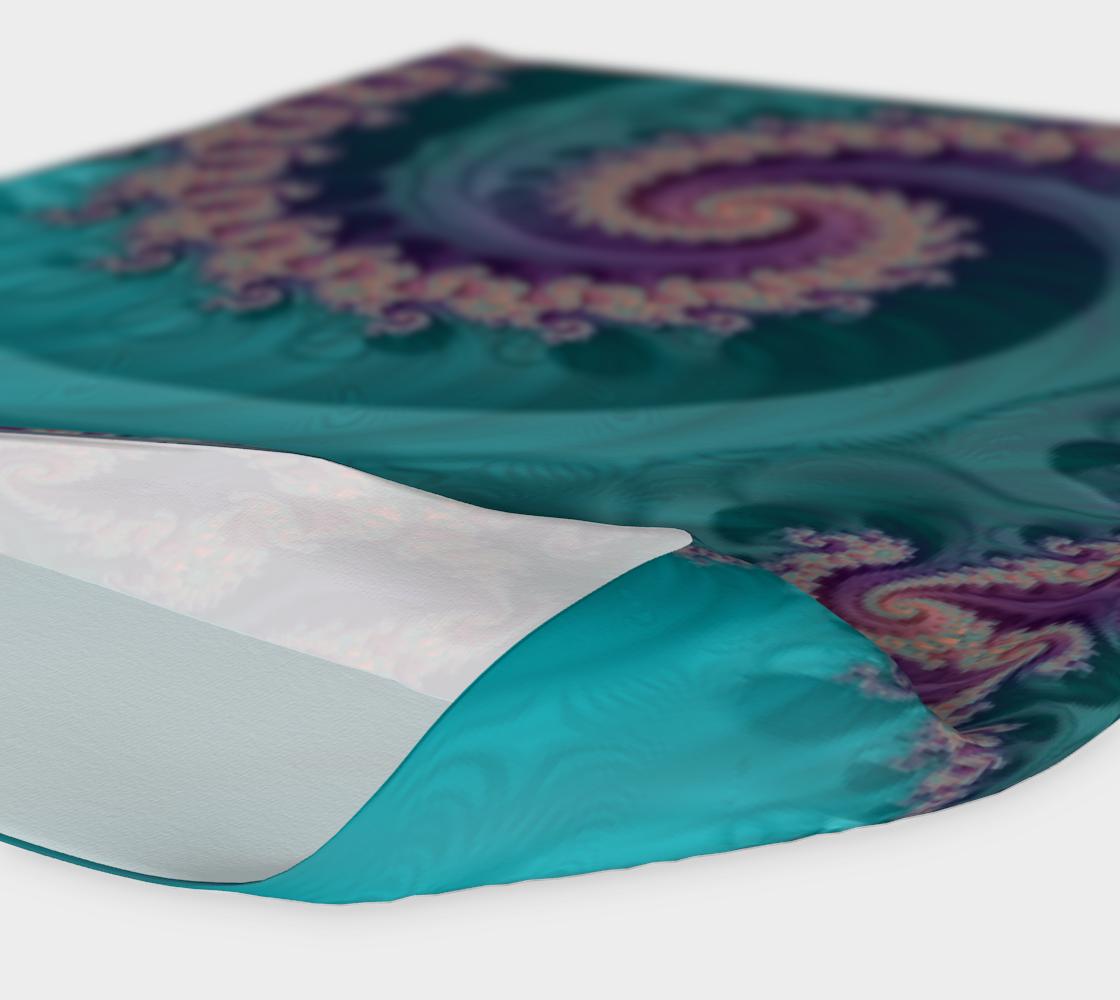 Aperçu de Teal Slide Headband #4