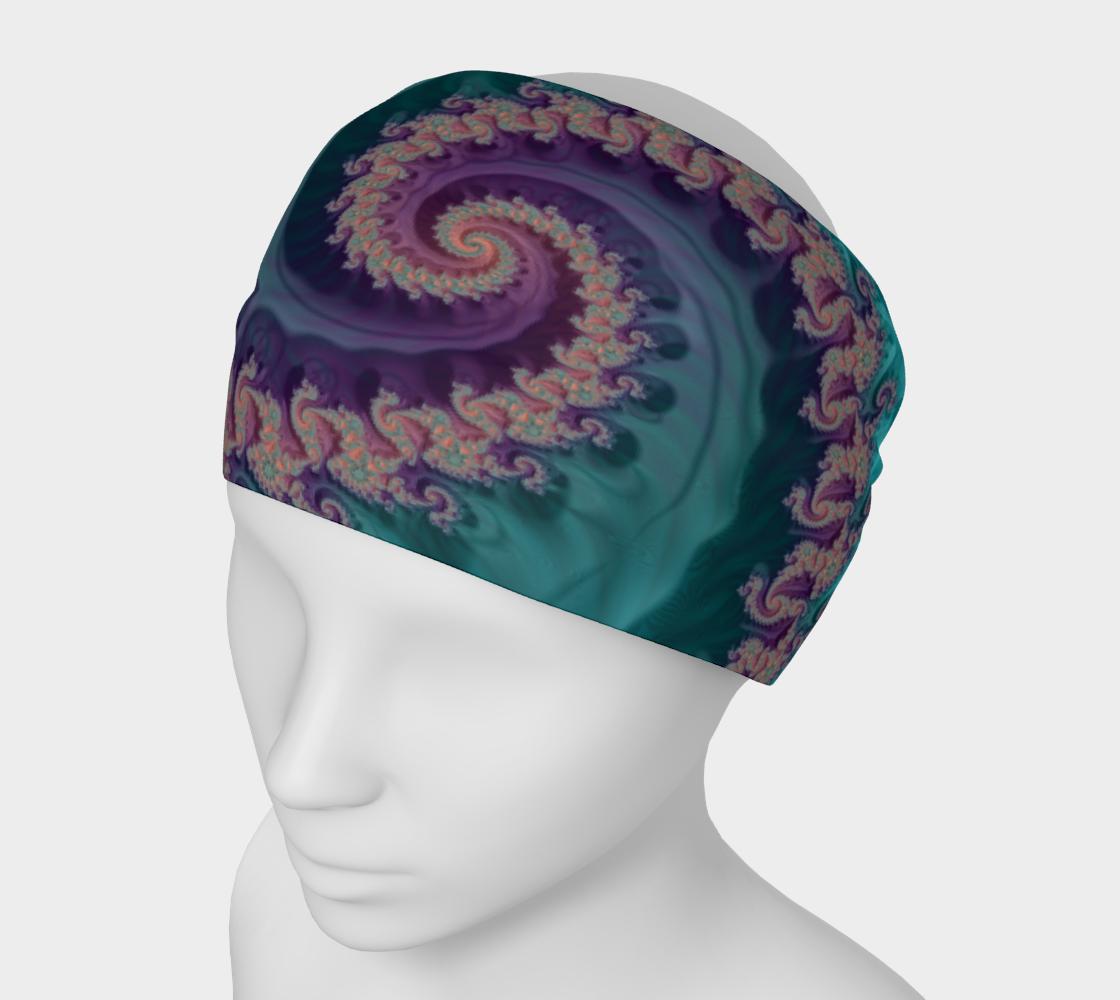 Teal Slide Headband preview