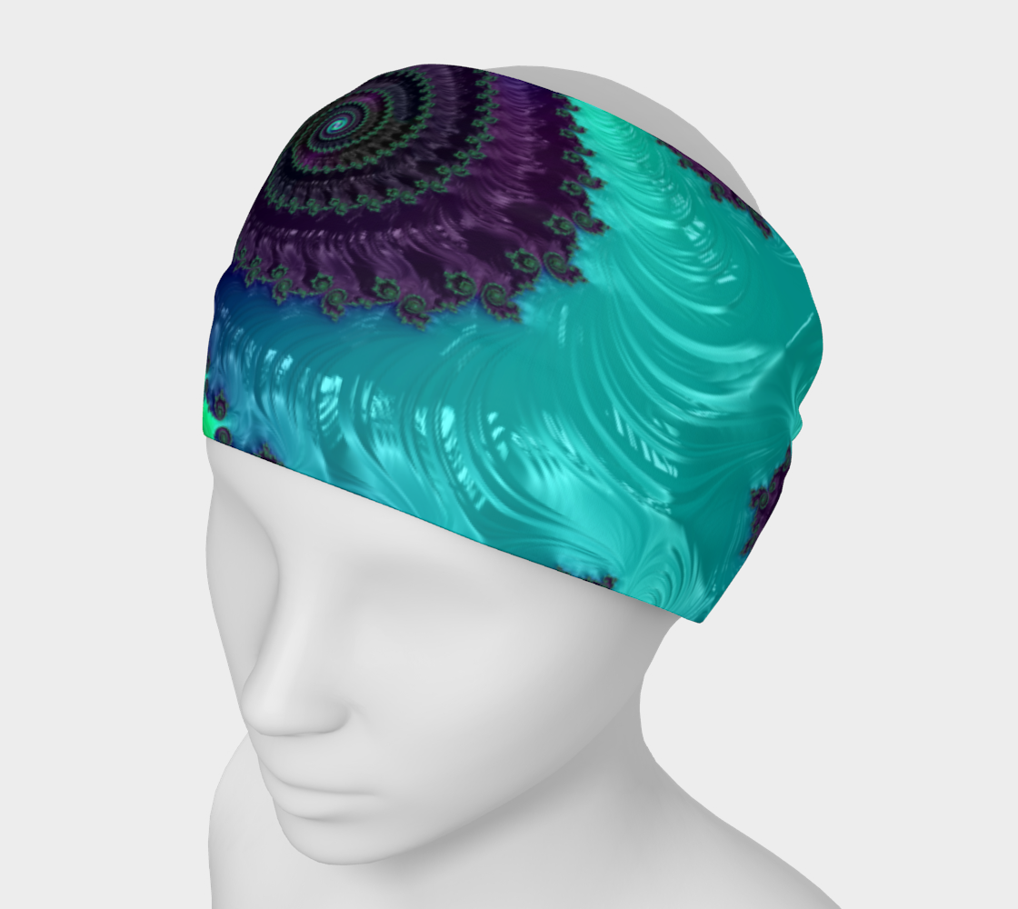 Aperçu de Berry Lime Twist Headband  #1