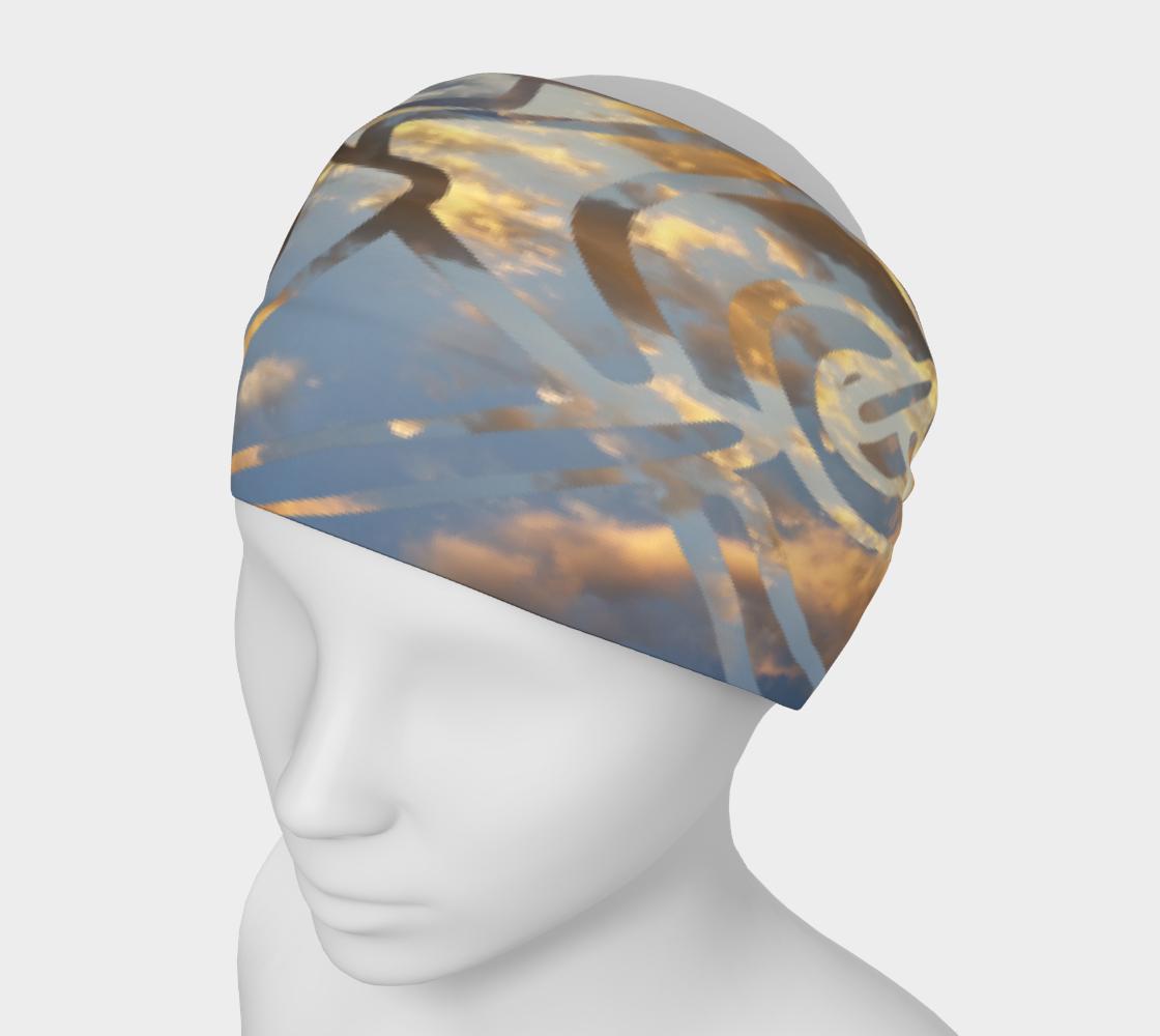 Aperçu de Swirling Celtic Sunset Headband