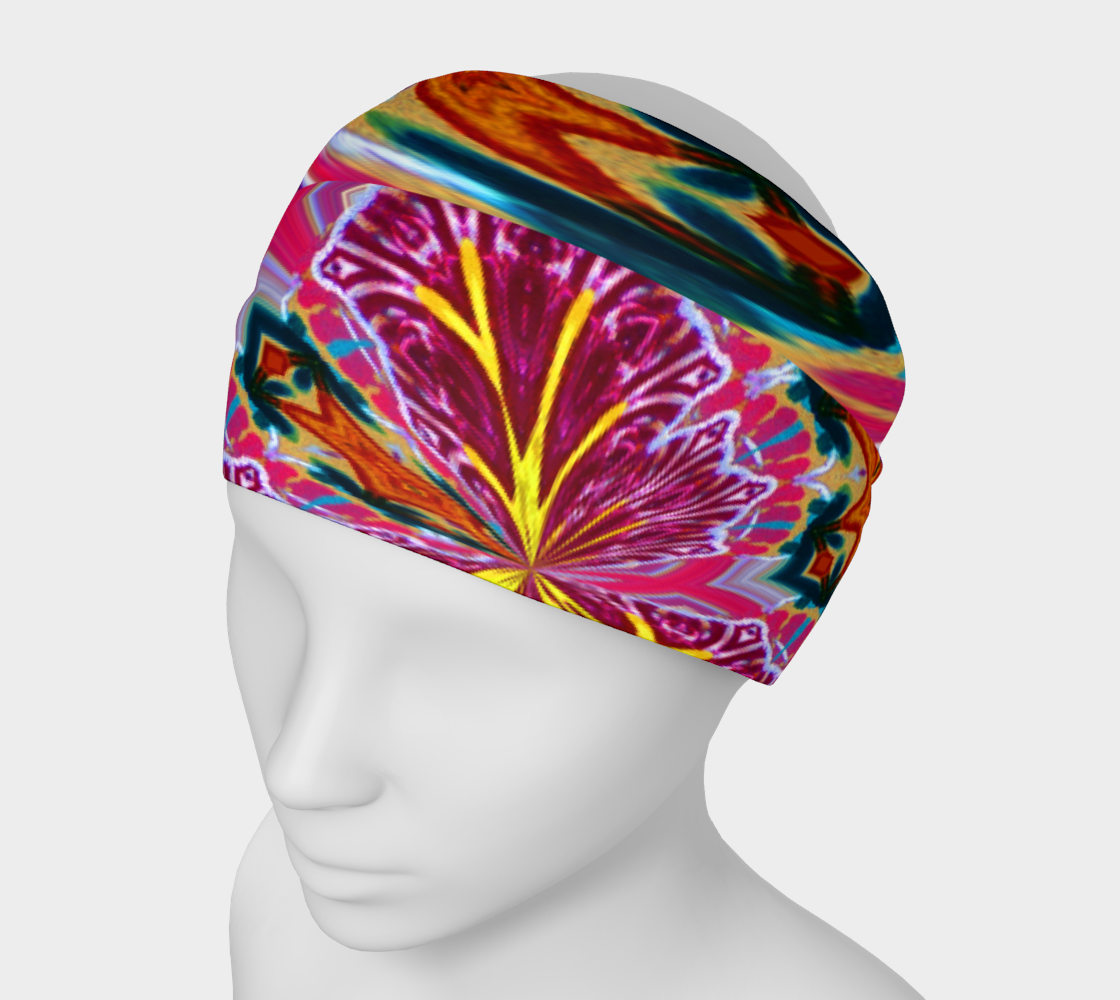 Newport Holiday Floral Explosion Headband preview