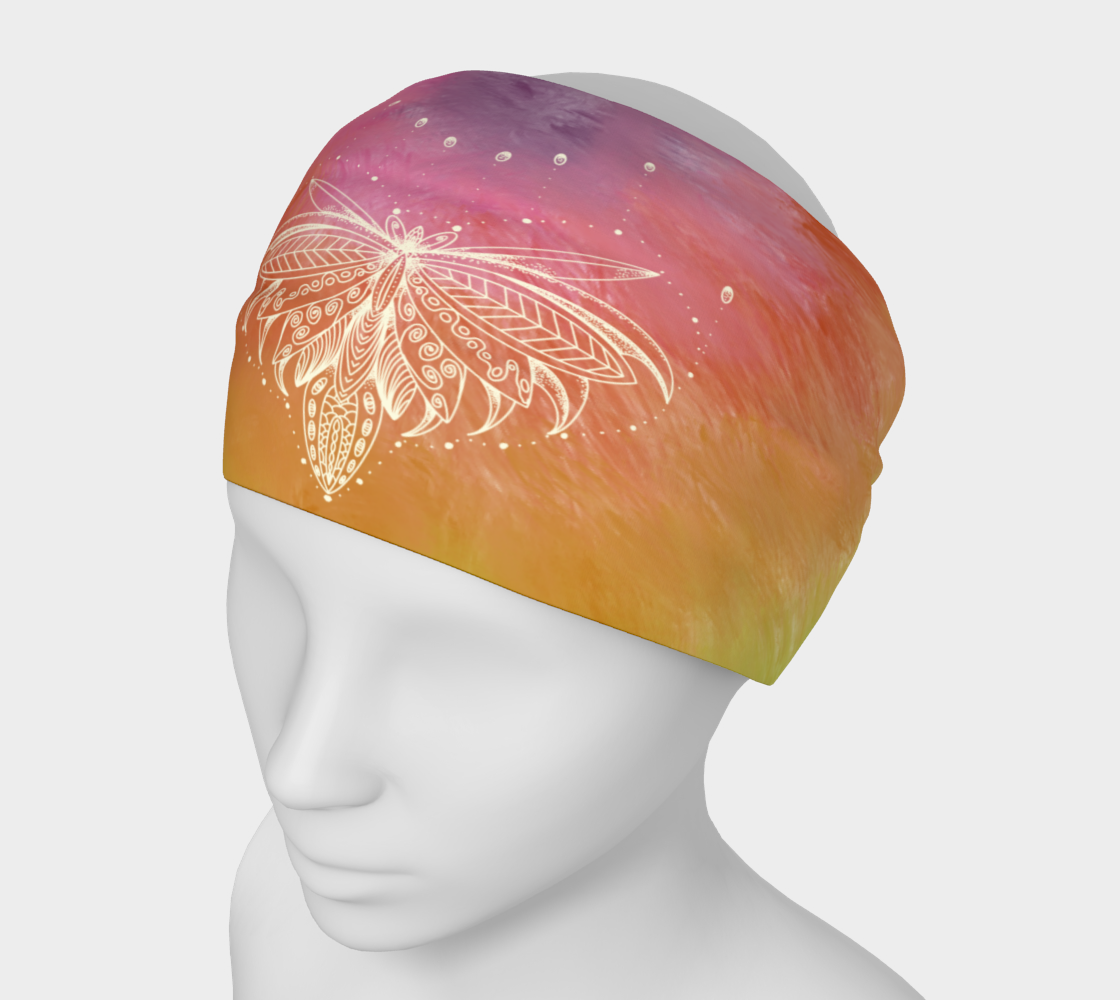 Lotus in Bloom - Headband preview