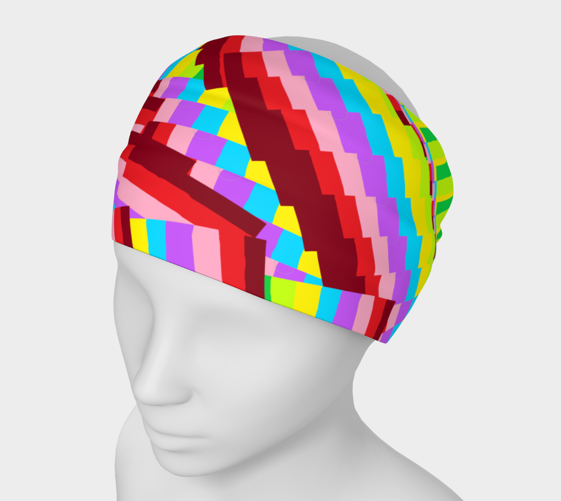 colorful headband preview