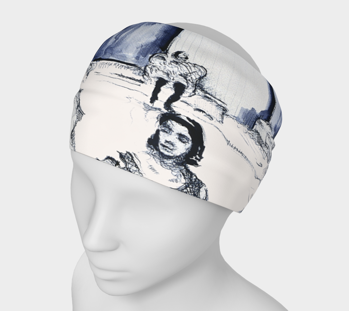 Place Blanche Devin Print Headband preview