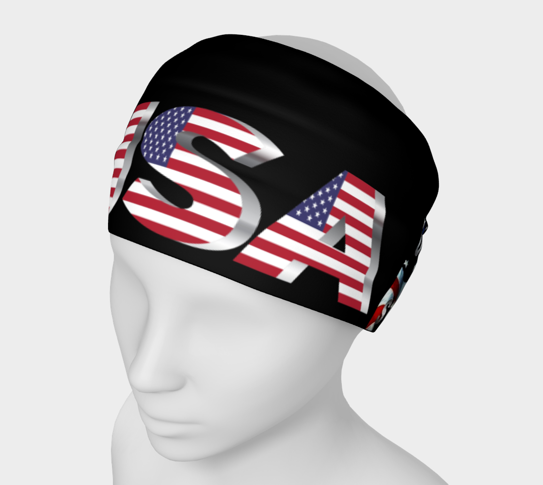 USA United We Stand Headband Face Mask Scarf preview