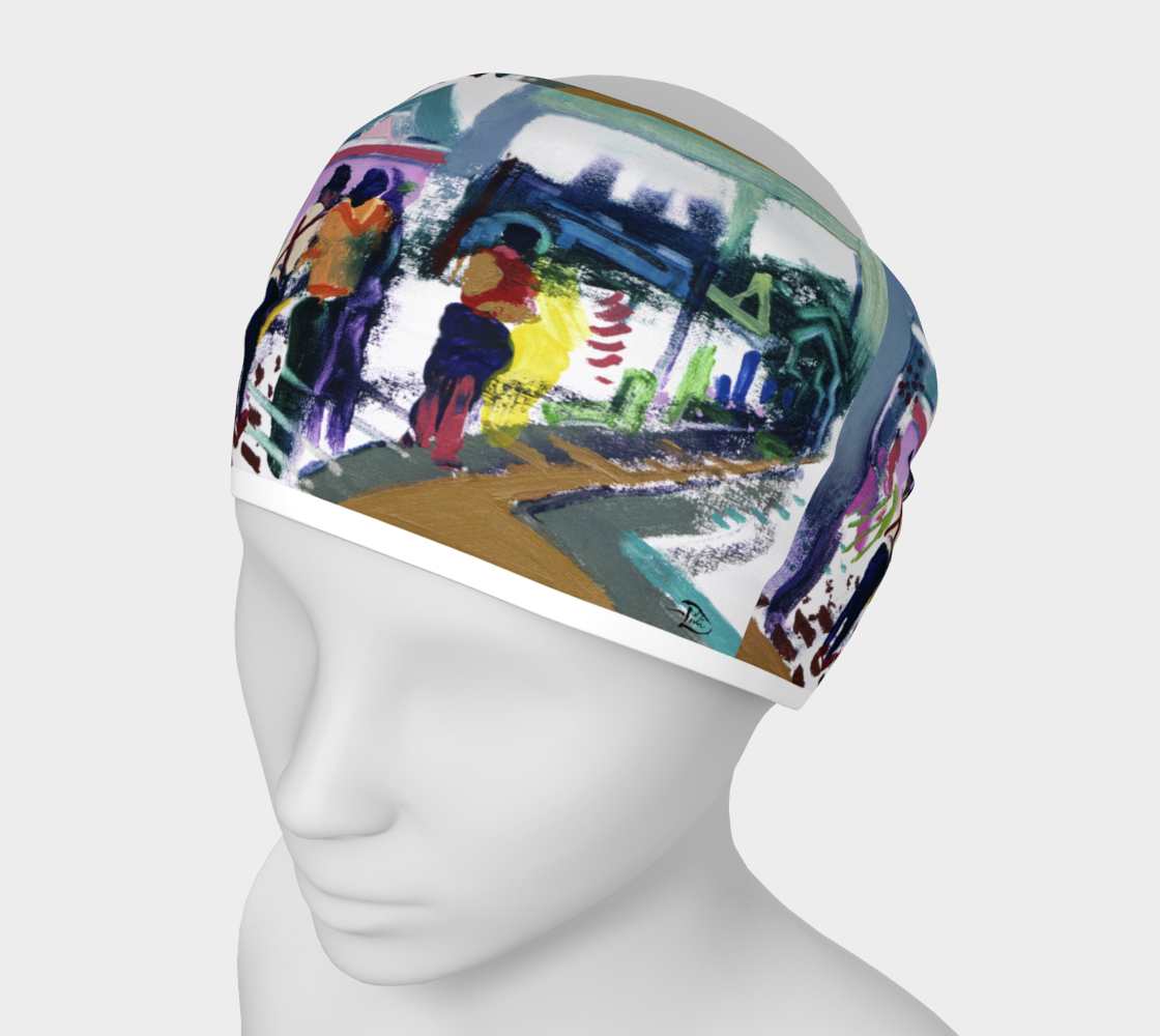 Shrine Temple Art-Match Headband by Lowell S.V. Devin preview