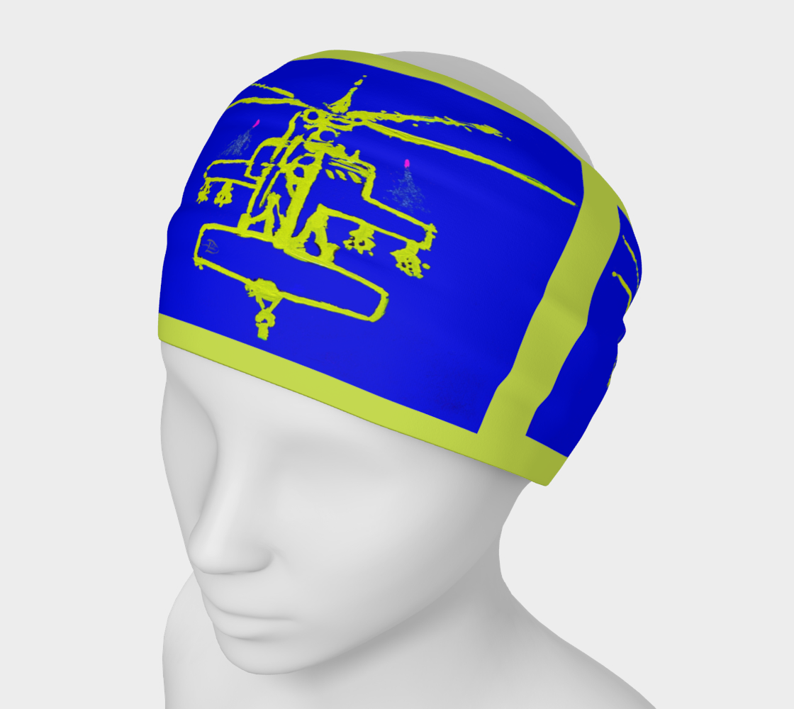 Apacheglyph New Military Print Headband preview