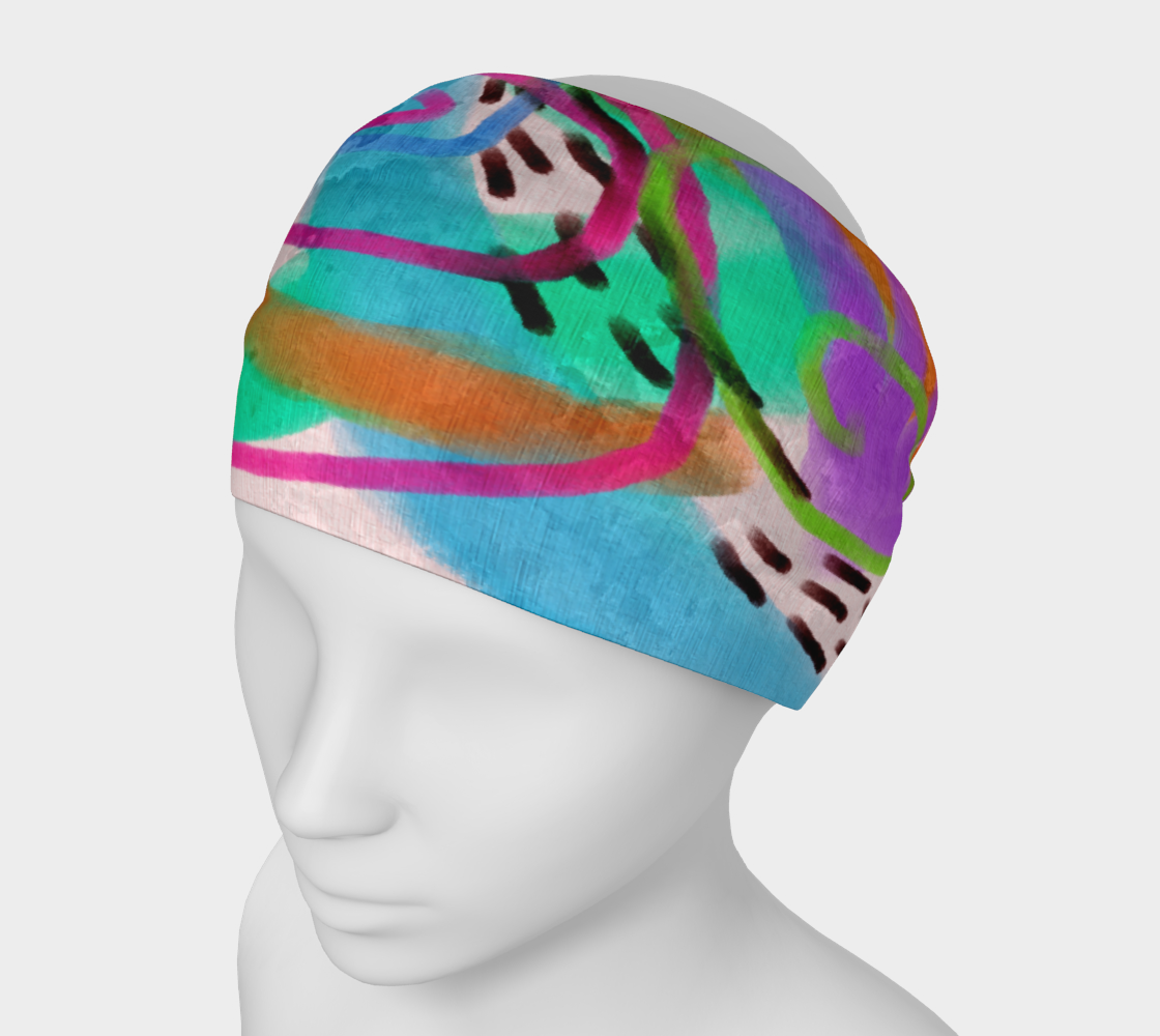 It's a Party Abstract Art Headband preview
