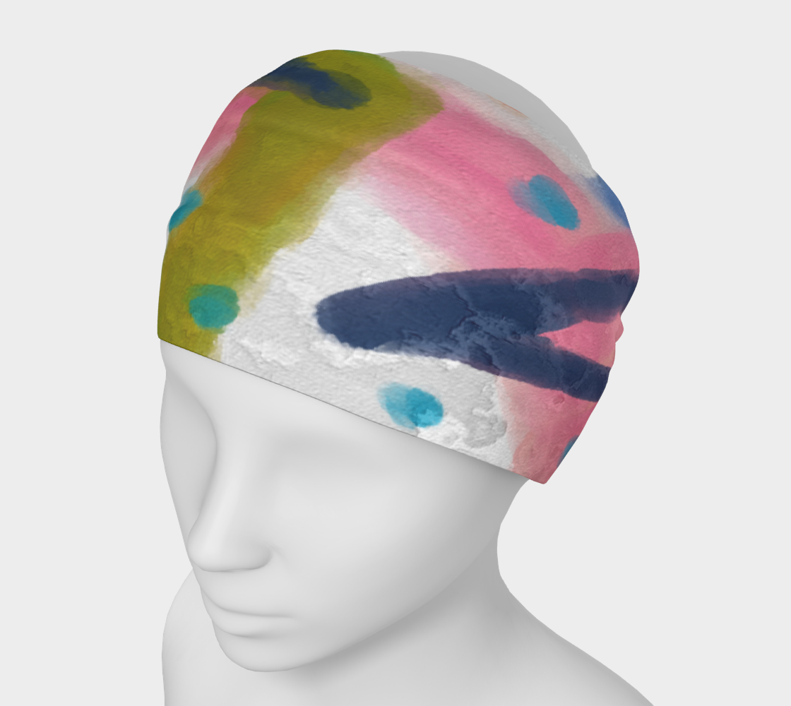 Funky Abstract Art Headband preview