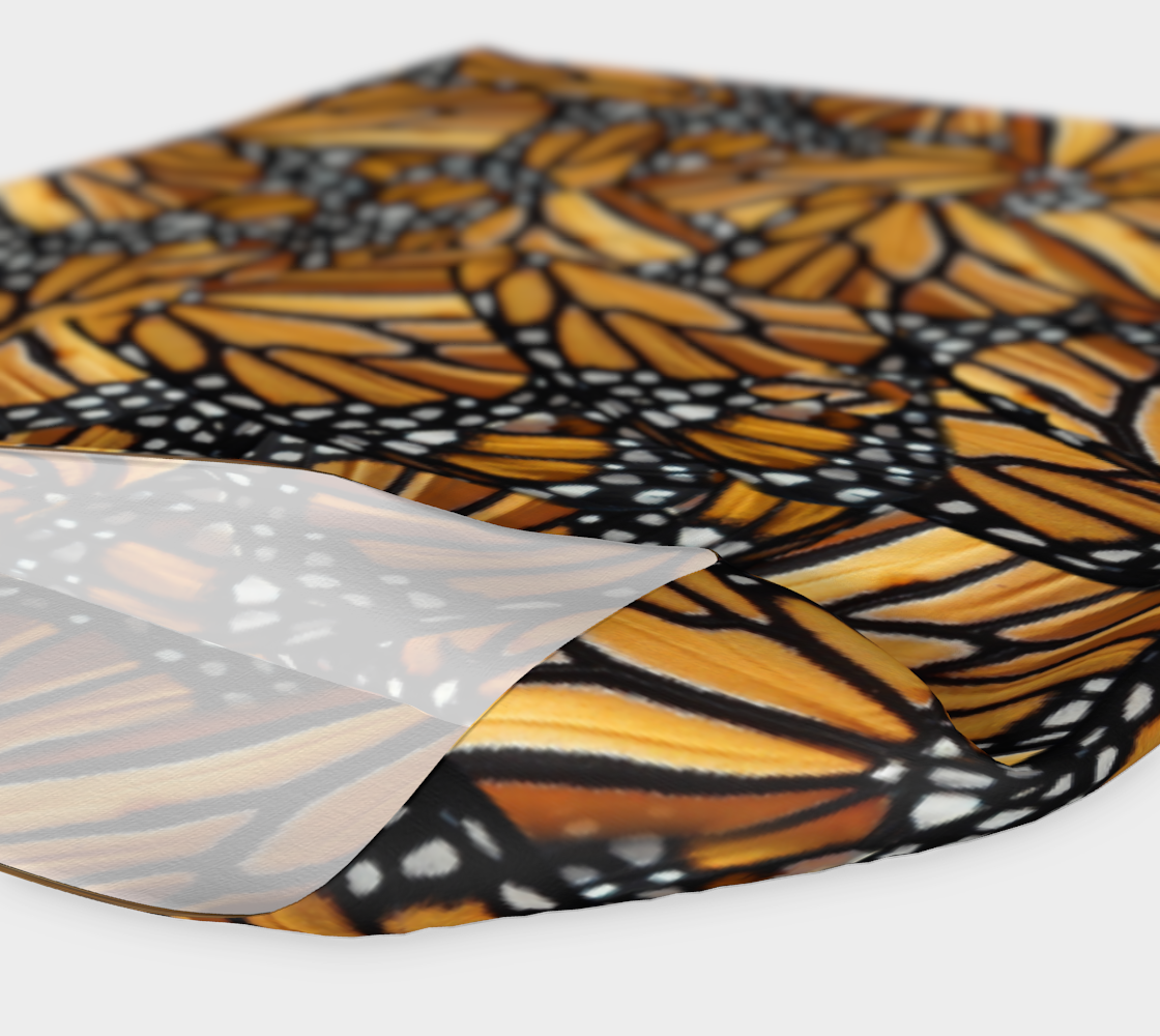 Monarch Butterfly Wing Mosaic Pattern preview #4