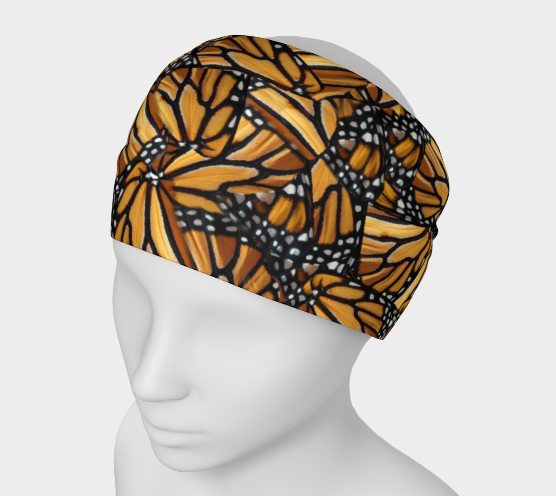 Monarch Butterfly Wing Mosaic Pattern preview #1