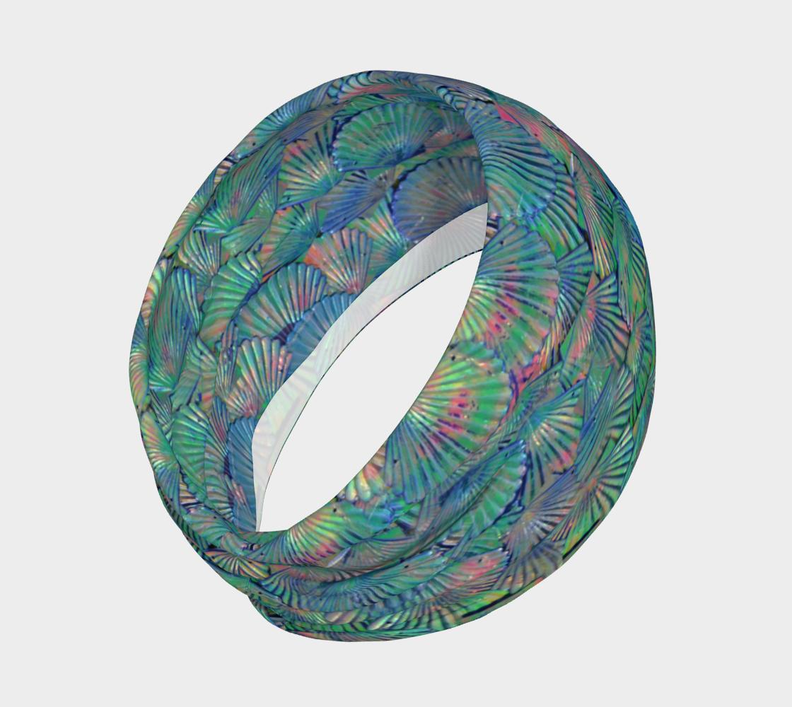 Mermaid Scale Headband preview #2