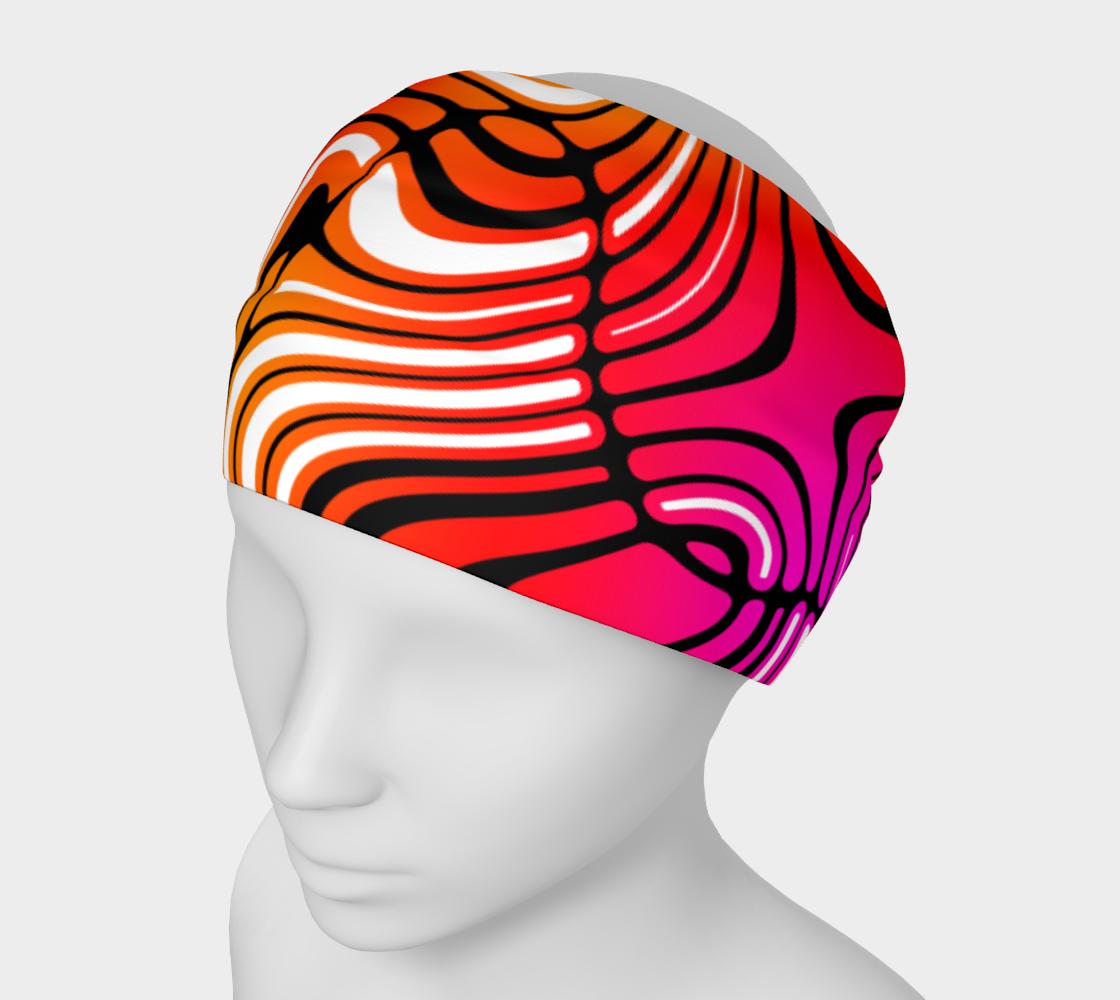 Pink Purple Yellow Swirl Stripe Pattern preview
