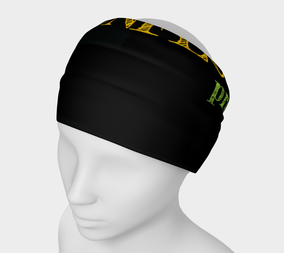 The sunflower project headband preview