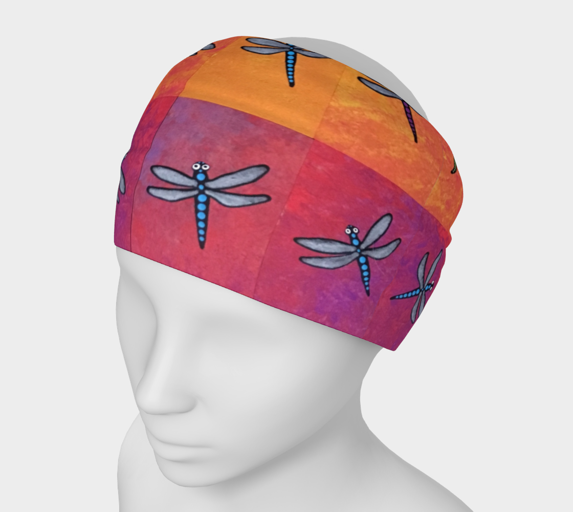 ombre dragonflies preview