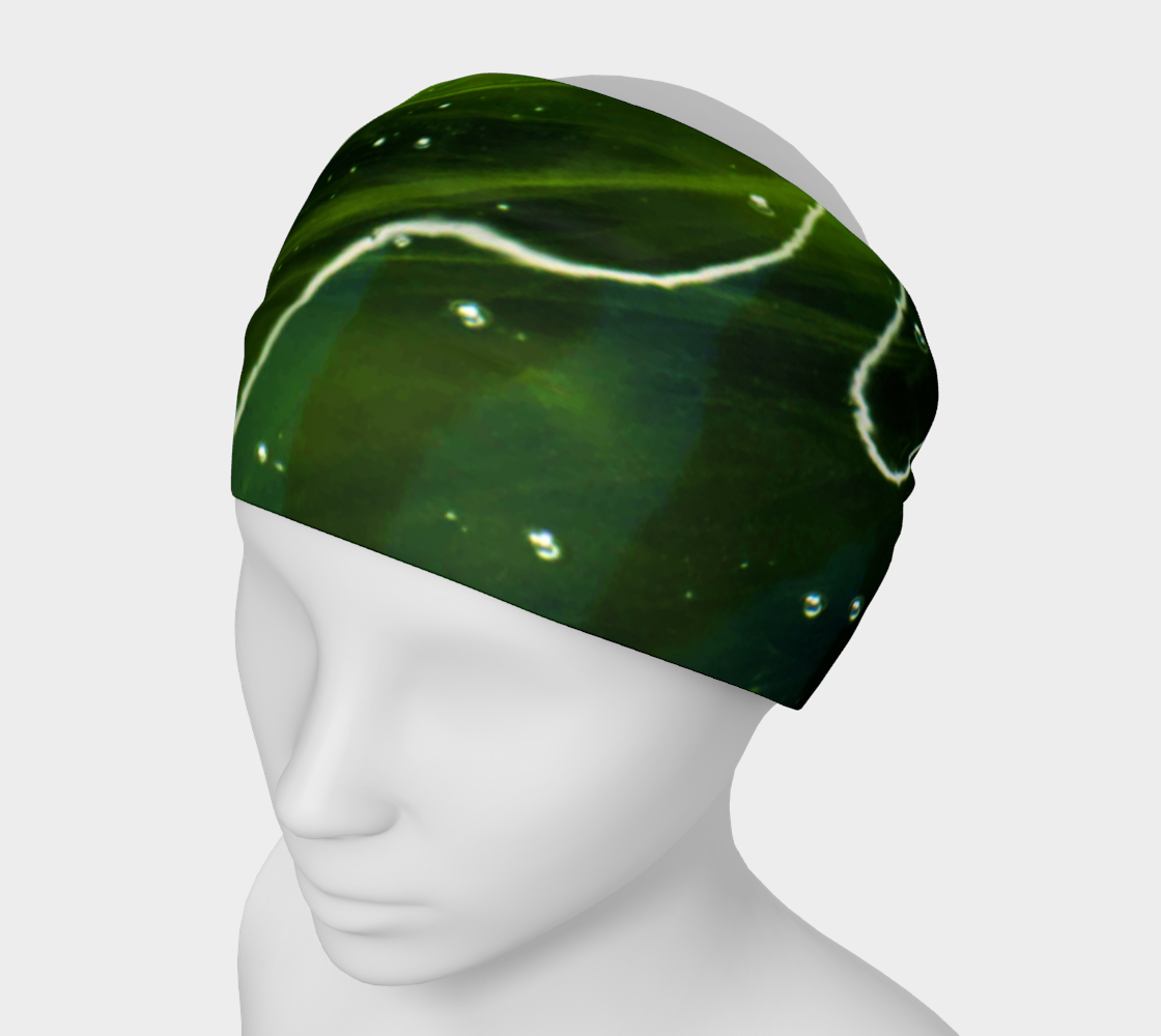Green Algae and Water Headband preview