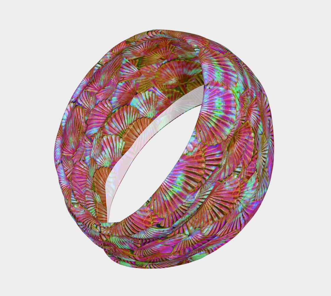 Peachy Keen Mermaid Scale Headband preview #2