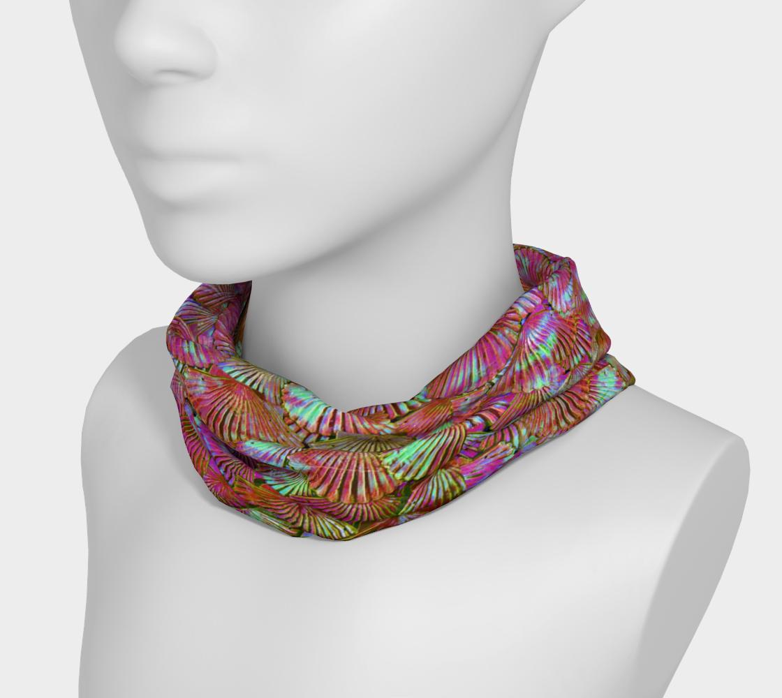 Peachy Keen Mermaid Scale Headband preview #3