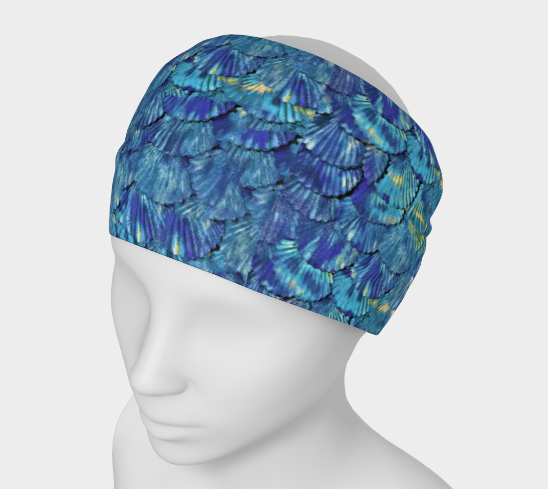 Blue Mermaid Scale Headband preview