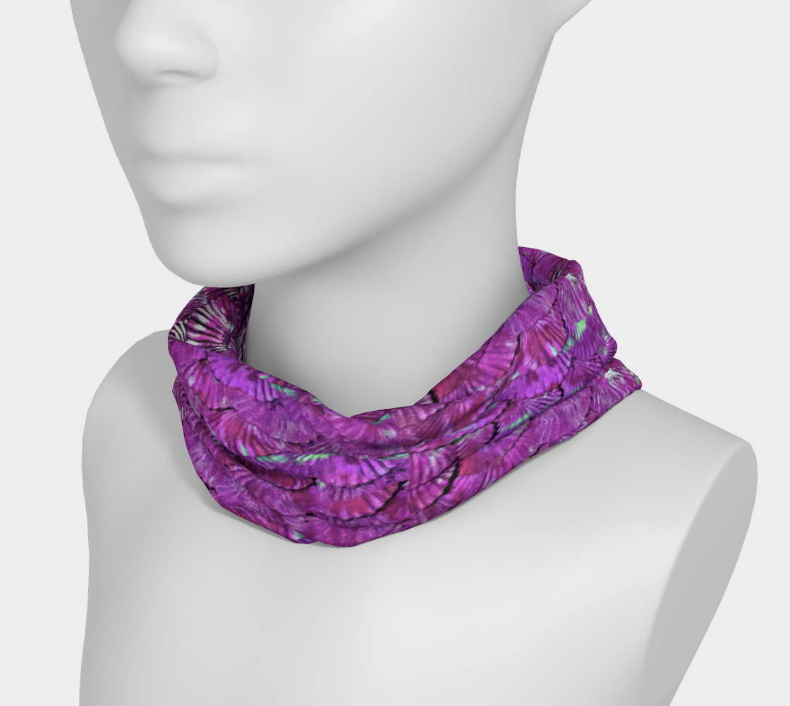 Purple Mermaid Scale Headband preview #3