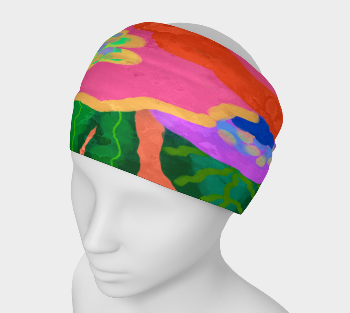 Bloom Abstract Art Headband preview