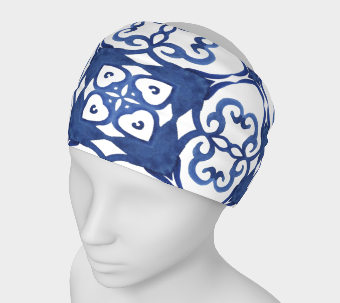 Aperçu de Blue Tile Lrg
