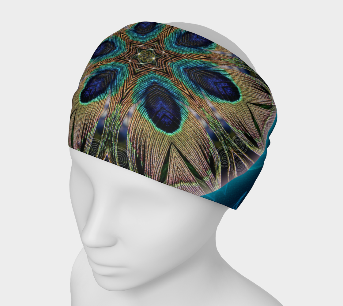 Peacock Power 2 Headband & Face Covering preview