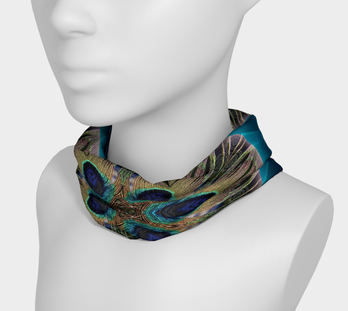 Peacock Power 2 Headband & Face Covering preview #3