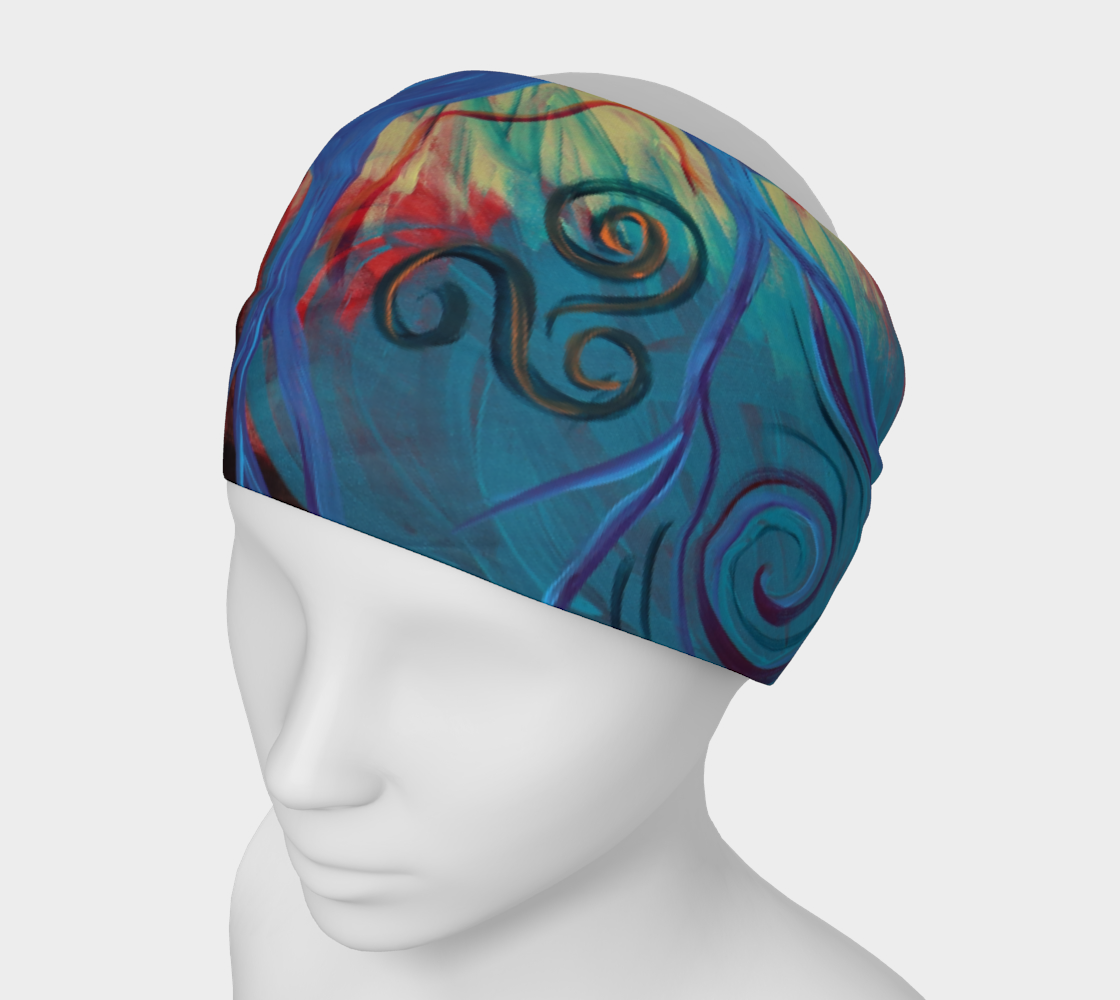 Tree of a Colourful Life Buff/Headband preview