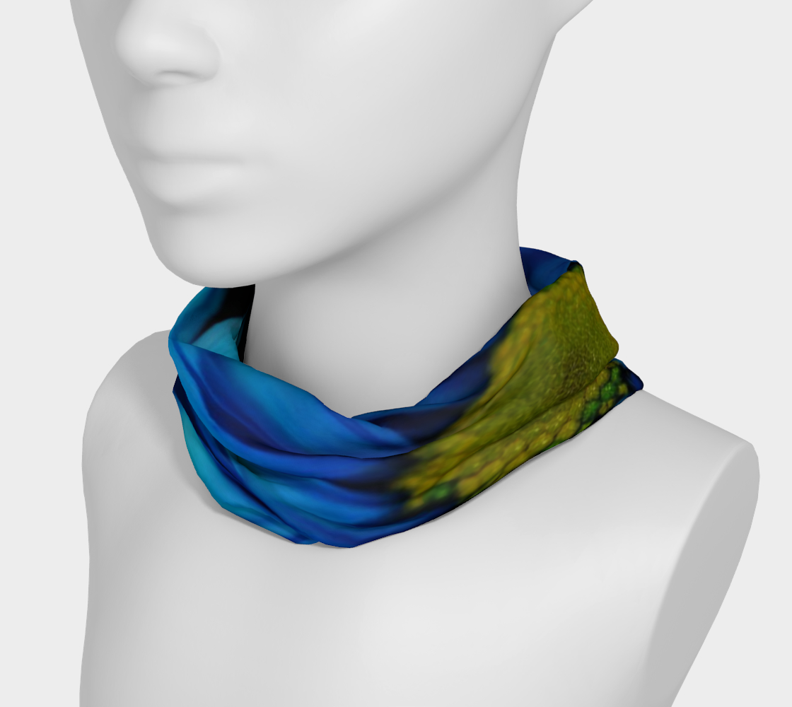 Aperçu de Blue Daisy Headband #3