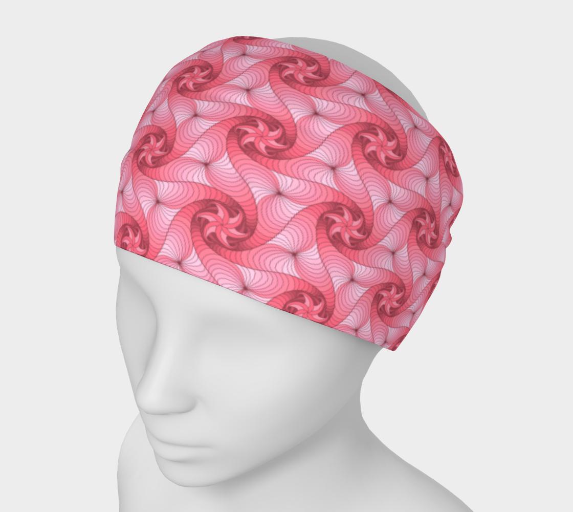 Triskelles pattern en vieux roses, pinks preview