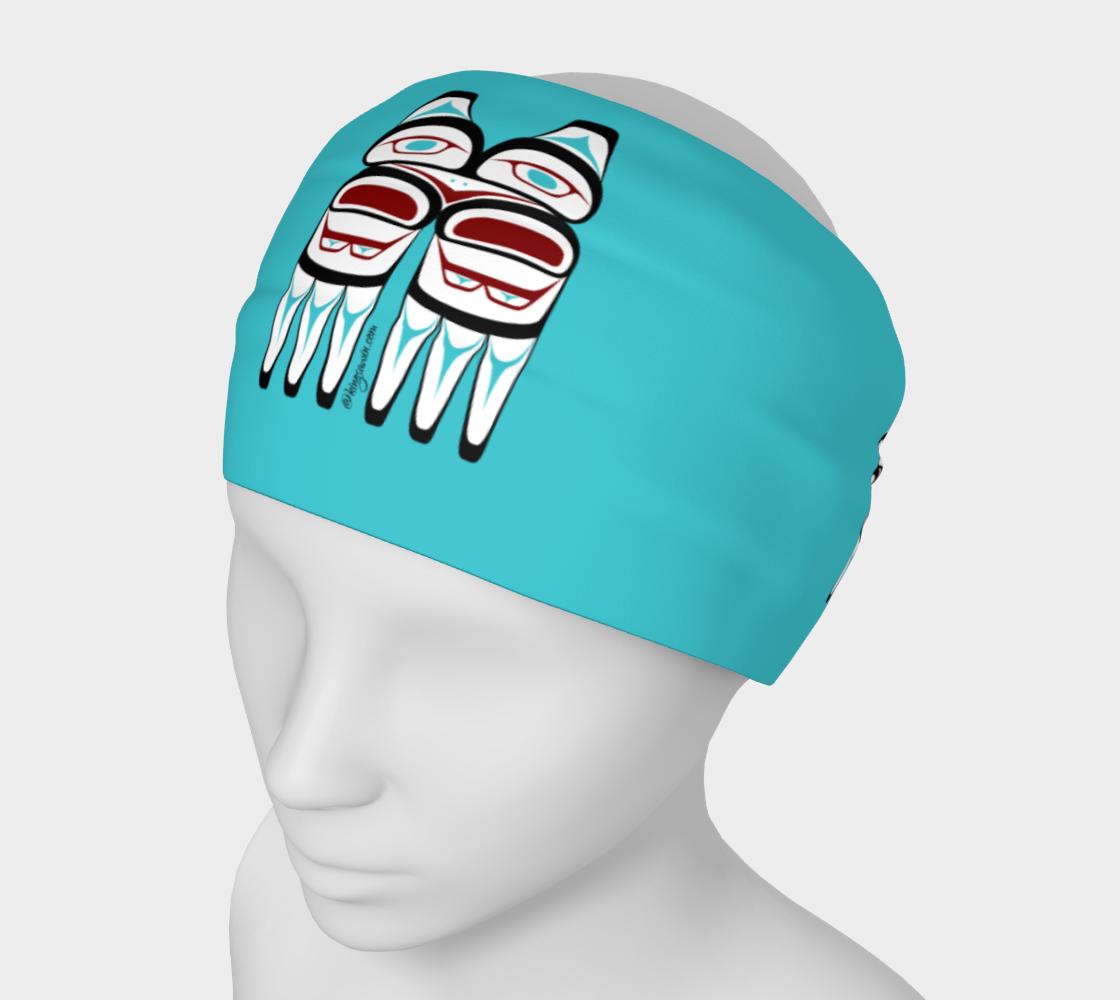 Tlingit Formline 3 Owl Headband preview