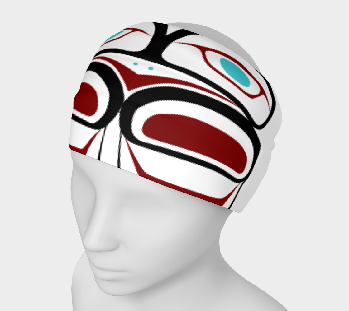 Warrior Style Pacific Northwest Formline Headband preview