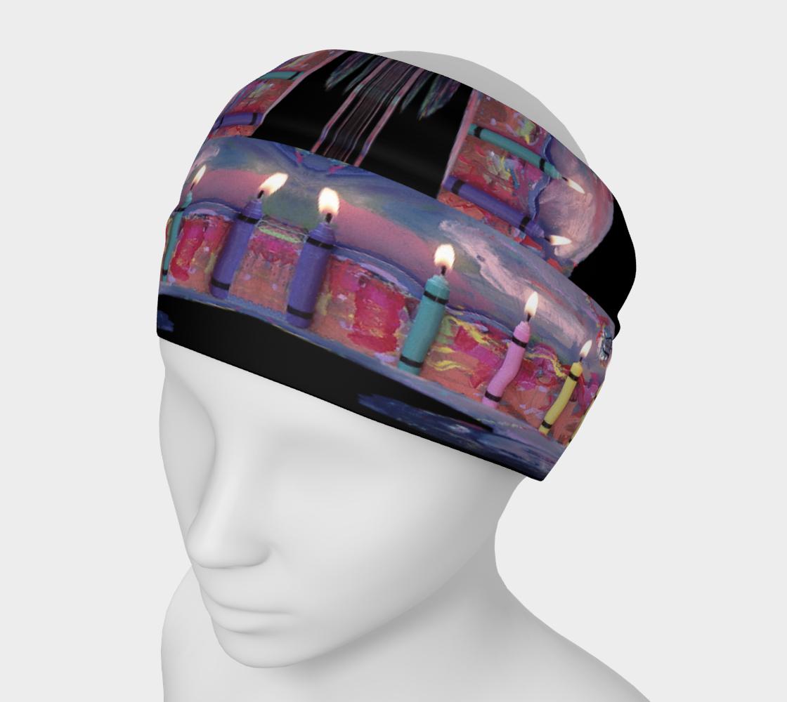Diana Cake Memorial Candle-Light Headband preview