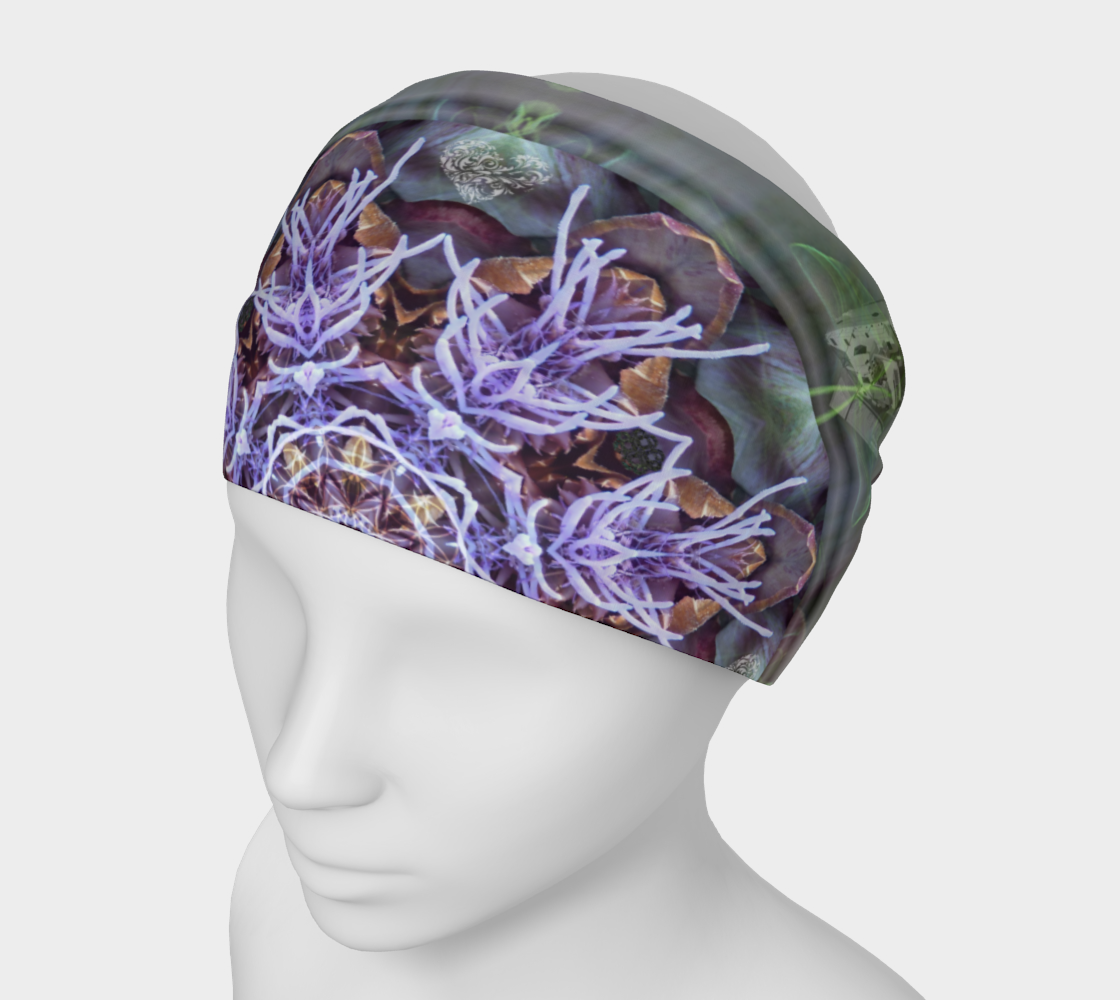 Manifestation Magic Mandala 2 Headband & Face Covering preview