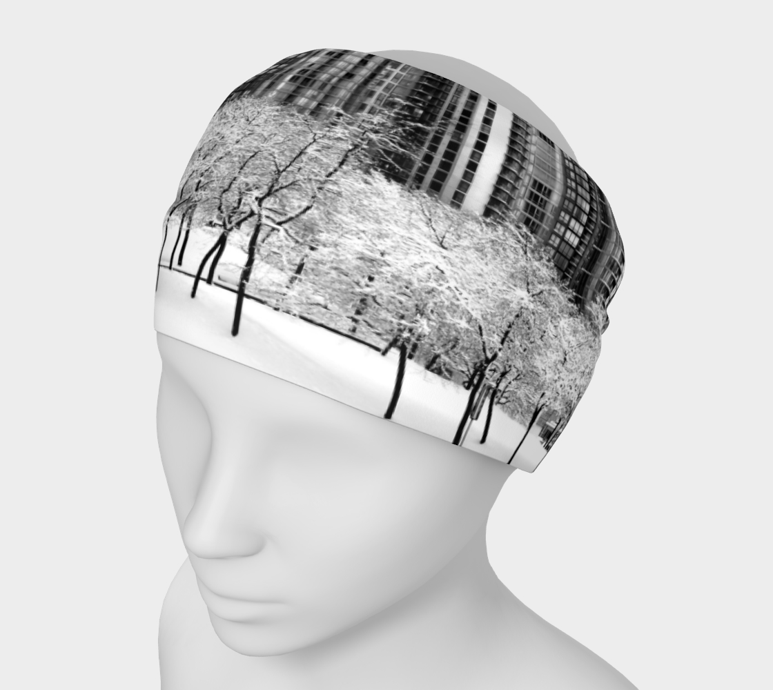 Snow In The City Headband & Face Covering preview