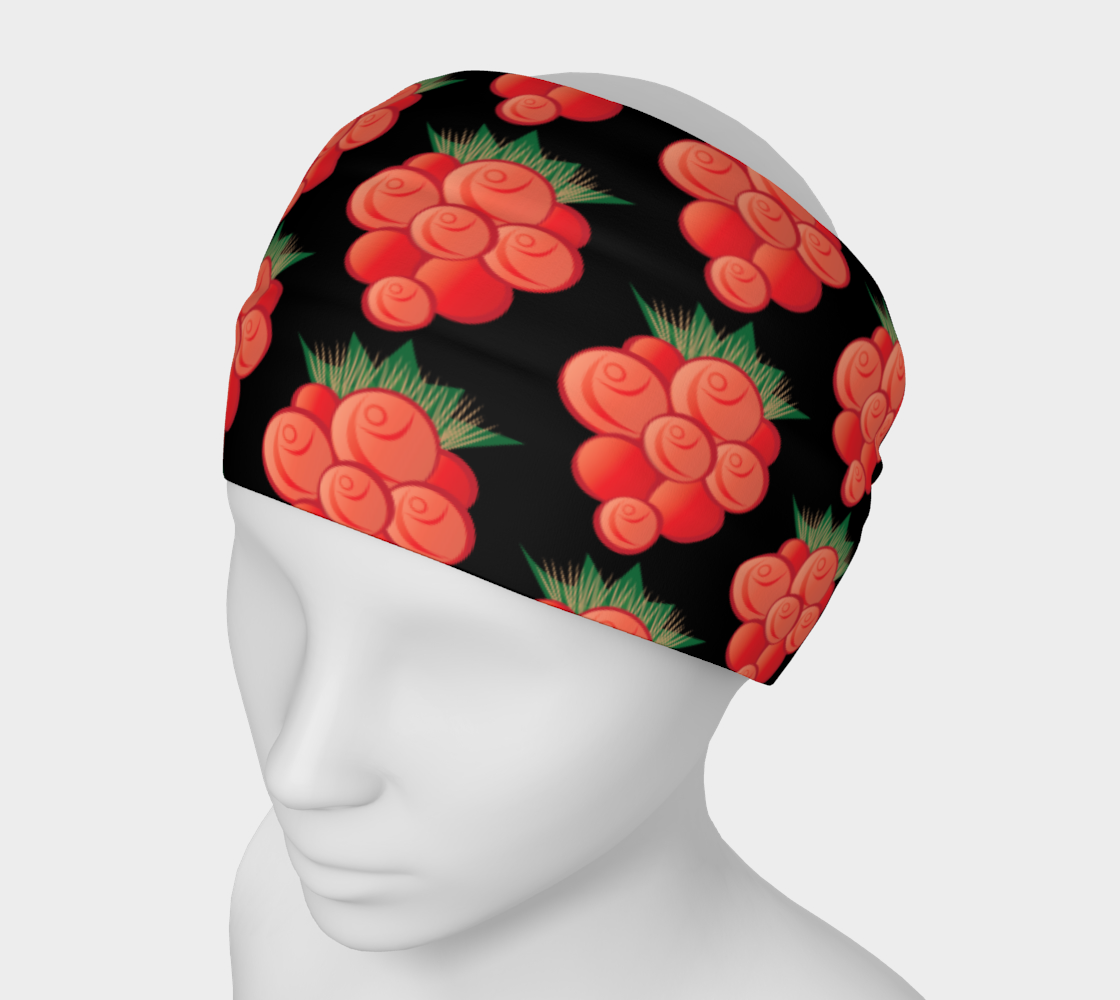 Salmonberry Headband preview