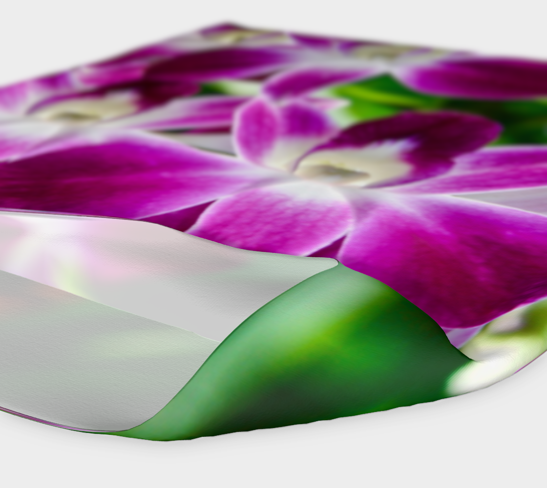 Orchid Garden Headband & Face Covering preview #4