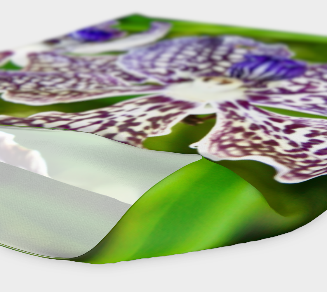 Orchid Garden 2 Headband & Face Covering preview #4